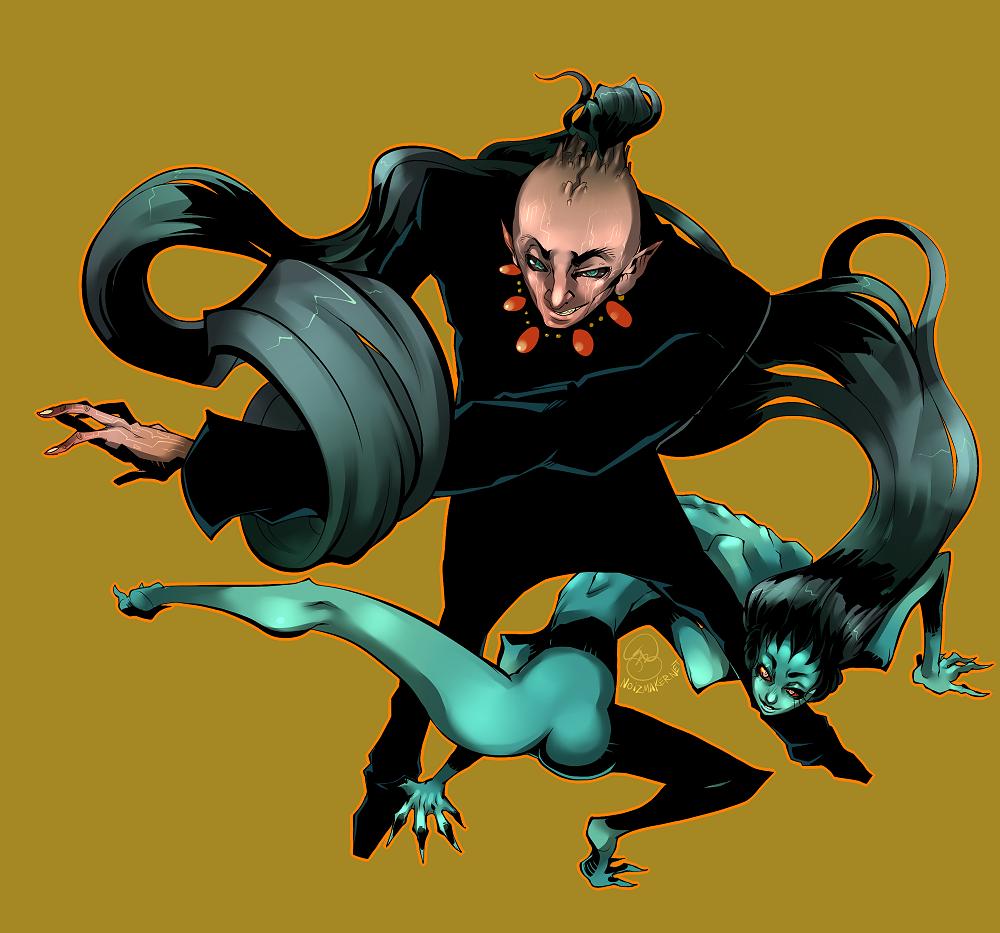 Original: Demon Hair Summoner by karniz