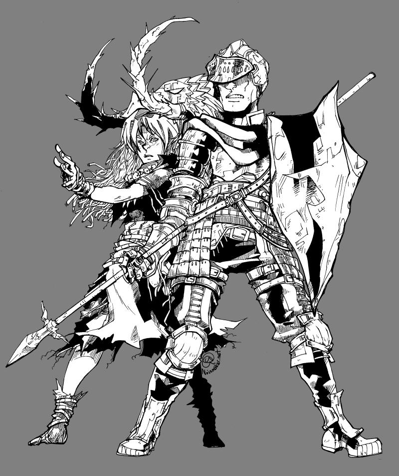 Dark Souls: Karniz + Torcen by karniz