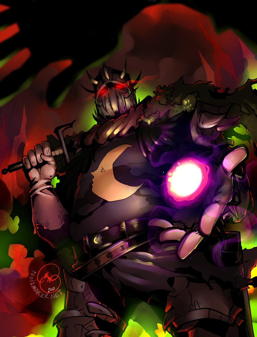 Dark Souls: Lunaire? by karniz
