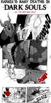 Dark Souls: Vs. the Big Bad Wolf by karniz