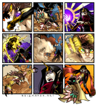 The Ward: Alyssa vs. Echidna by karniz
