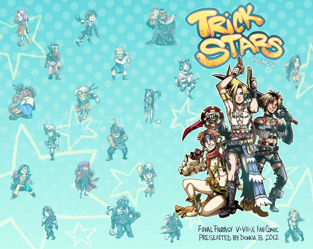 Final Fantasy Fan Comic: Trick Stars Vol. II by karniz