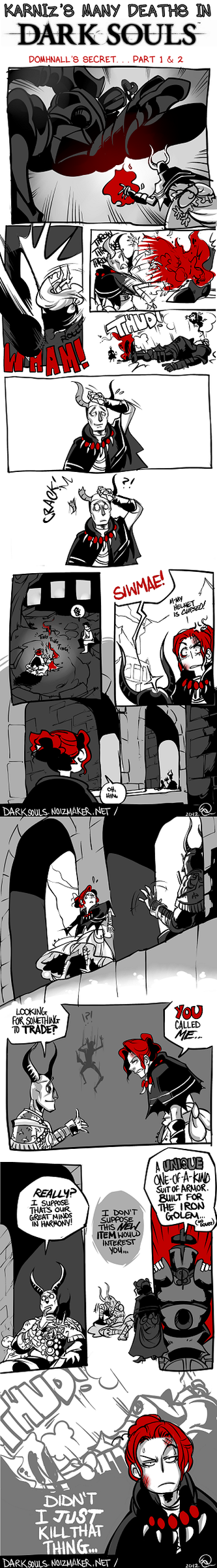 Dark Souls: Domhnall's Secret Part 1 + 2 by karniz