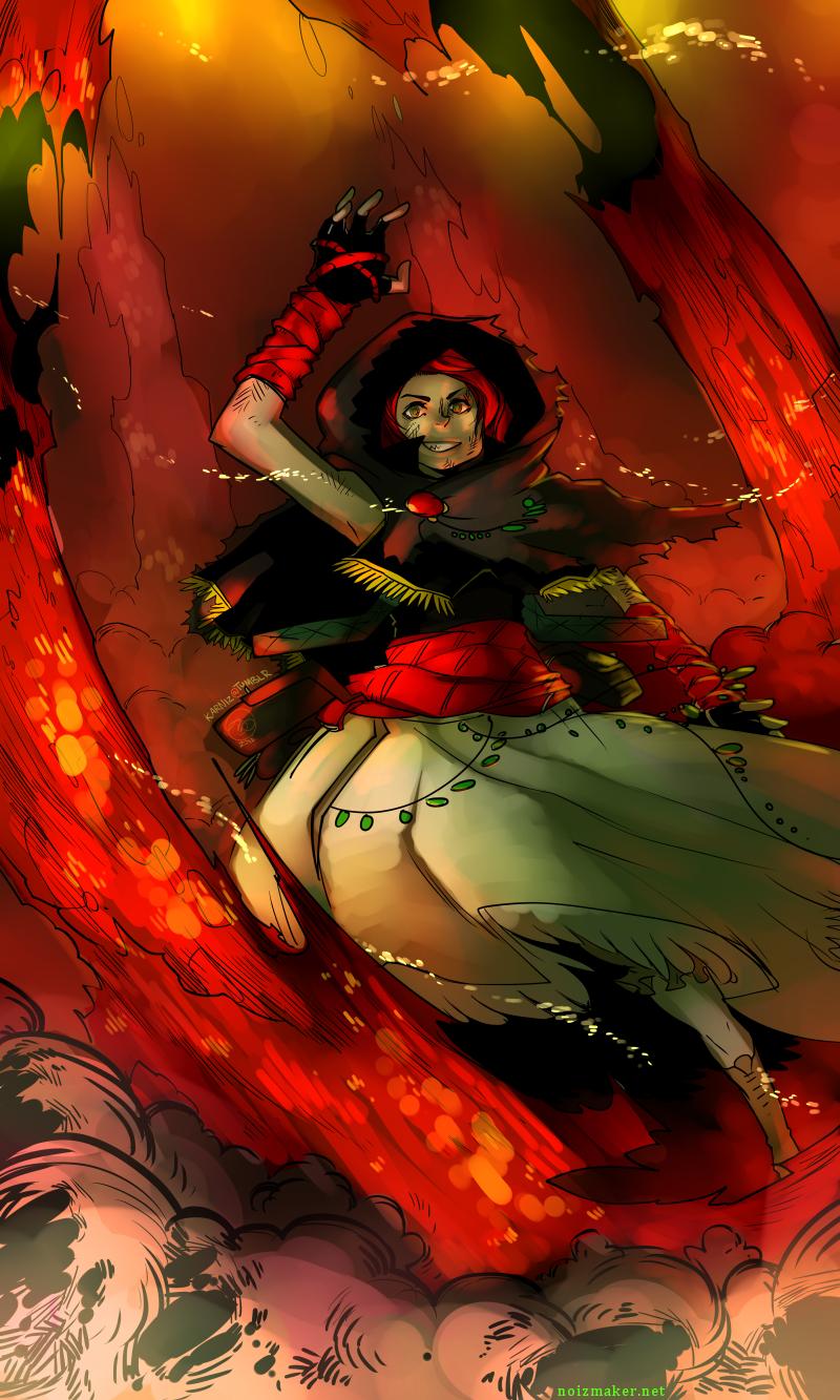 Dark Souls: Chaos Storm by karniz
