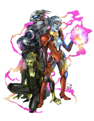 Mass Effect: My Dream Team by karniz