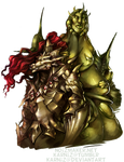 Dark Souls: Ornstein and Smough