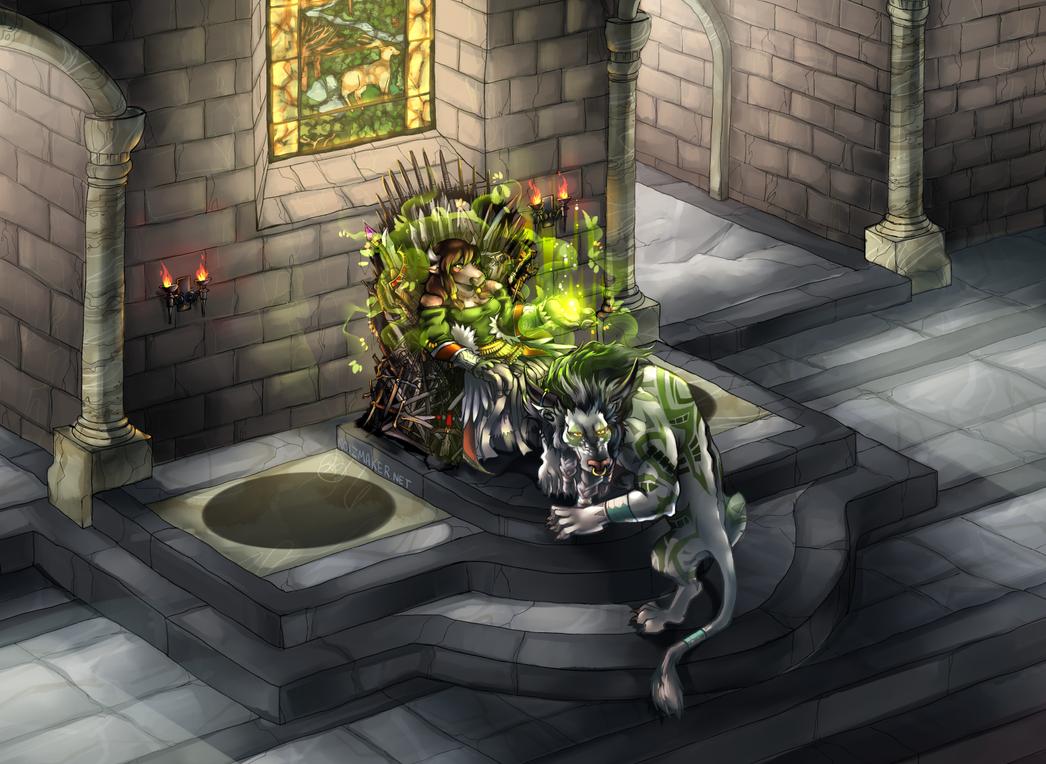 World of Warcraft: Pommura + Saelida by karniz