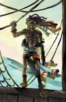 Etioli - Older Paichu at sea by karniz