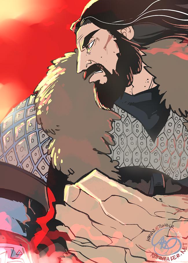 The Hobbit: Thorin by karniz