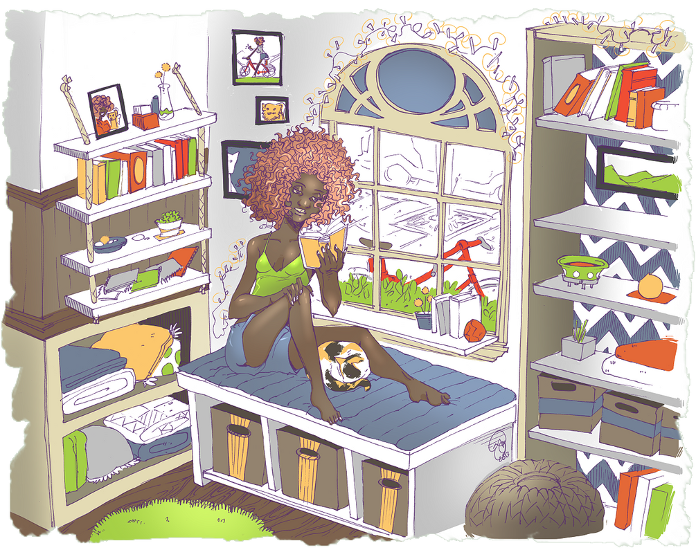 Original: Reading Nook by karniz
