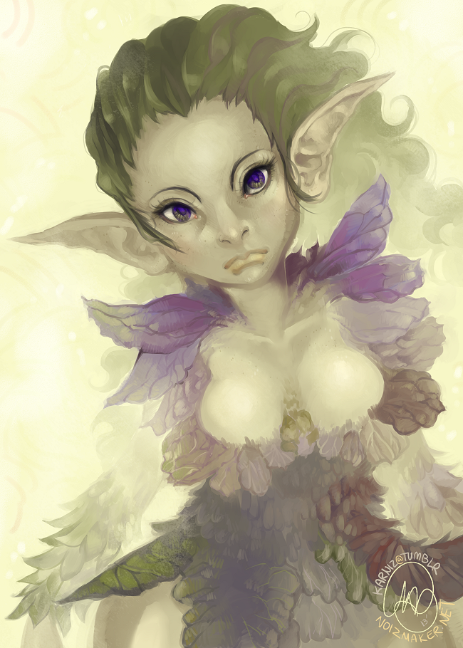 Original: Hellebore Fairy by karniz