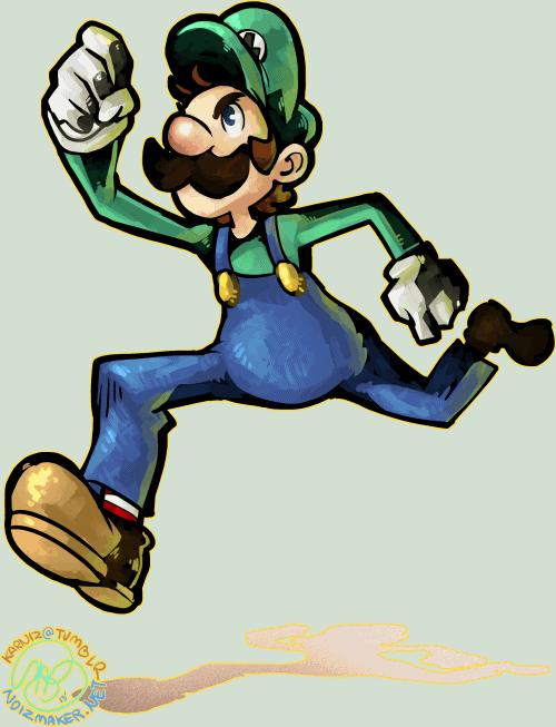 Nintendo: Go Luigi, go! by karniz