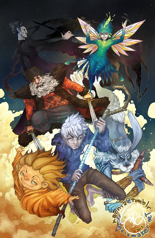 Rise of the Guardians: Answering the Call by karniz
