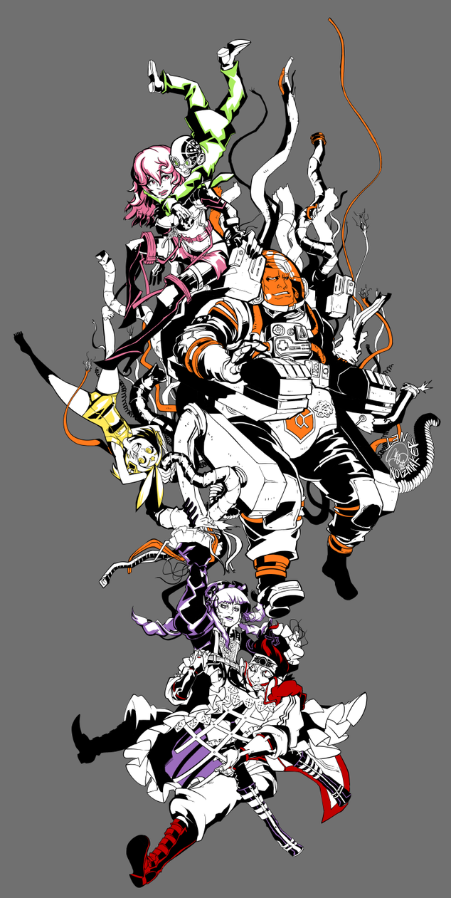 Commission: Assassin Train by karniz