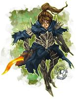 Dark Souls: Meet Zinrak by karniz
