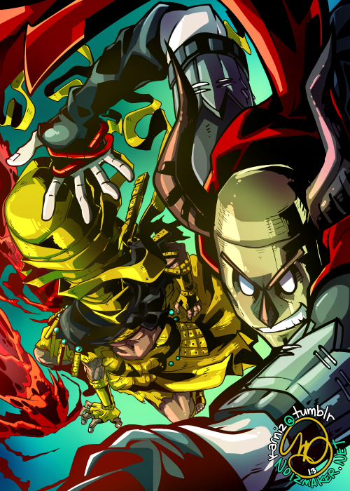 Dark Souls: Kyuzodomo + Karniz by karniz
