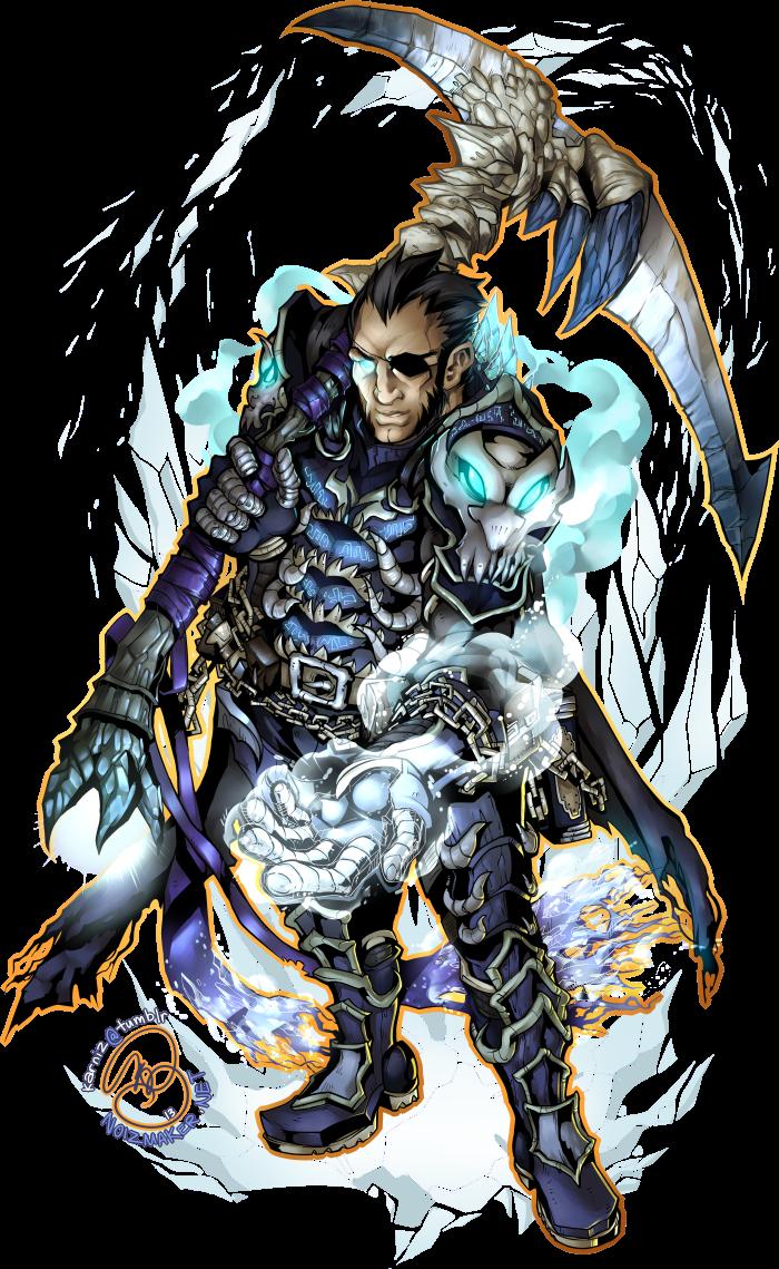 Commission: Icy Knight Insaru by karniz