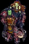 Commission: Rargnashas and Grogona