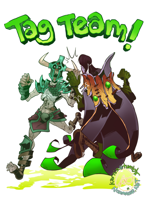 DOTA 2: Tag Team! by karniz