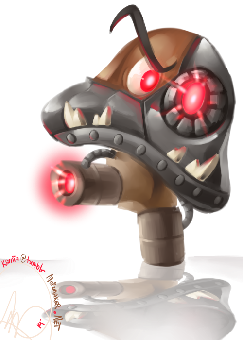 Nintendo: ROBO Goomba by karniz