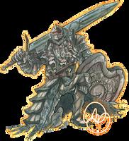 Dark Souls II: The Pursuer by karniz