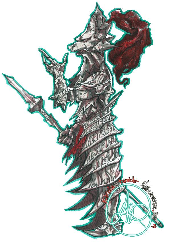 Dark Souls II: Old Dragonslayer by karniz