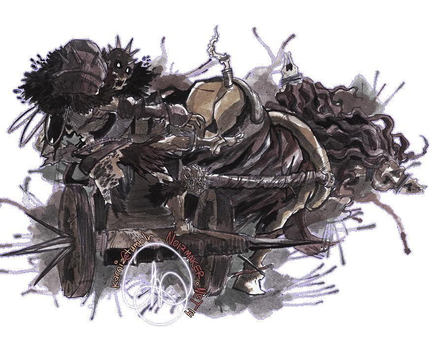 Dark Souls II: Executioner's Chariot by karniz