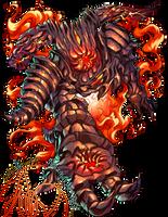 Dark Souls II: Smelter Demon by karniz
