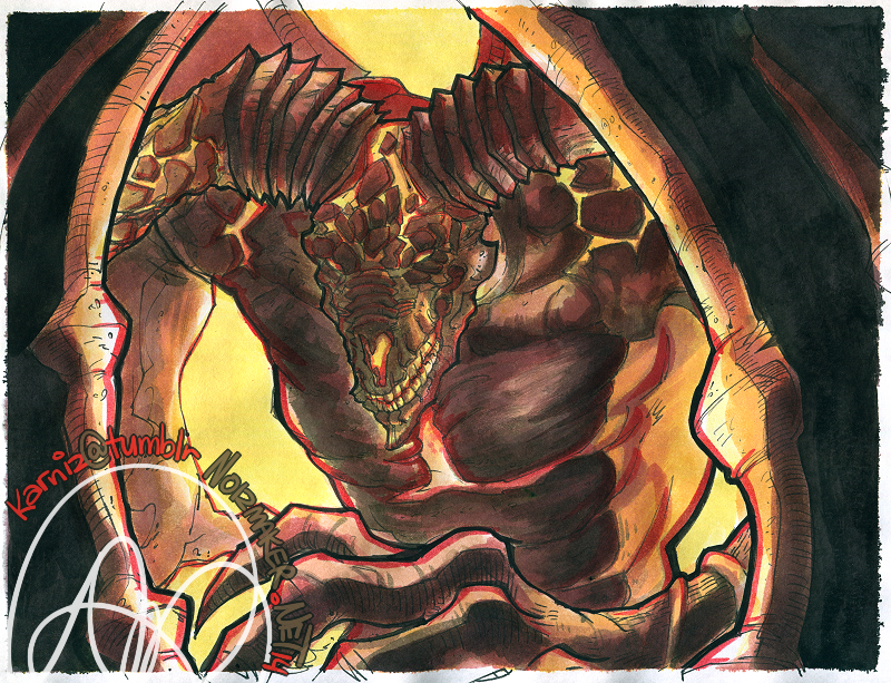 Dark Souls II: Old Iron King by karniz