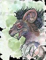 Dark Souls II: Royal Rat Vanguard by karniz