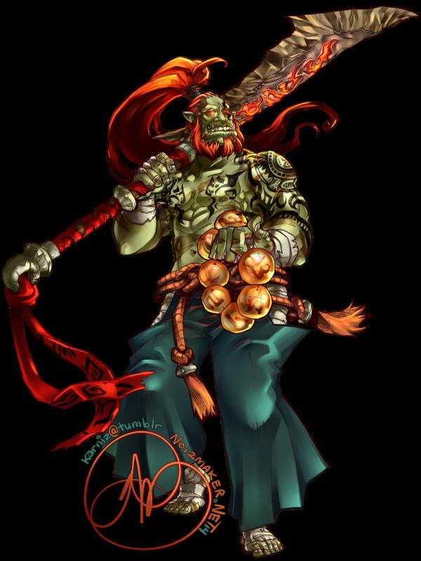 Commission: Gargargon by karniz