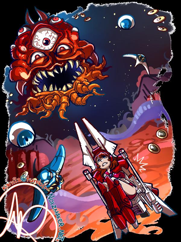 The Guardian Legend: Alyssa vs. Red Grimgrin