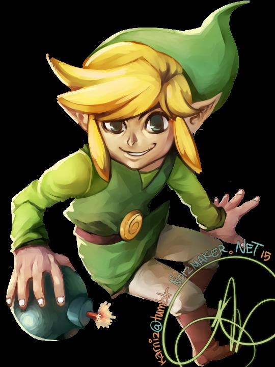Legend of Zelda and/or Super Smash Bros: Toon Link by karniz