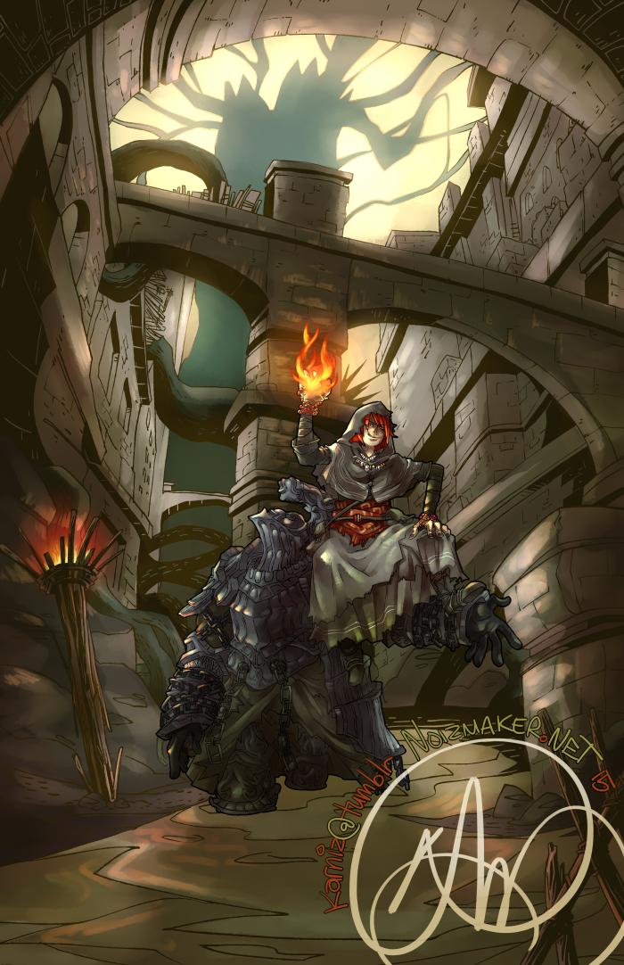 Dark Souls: Havel + Valkyrie by karniz