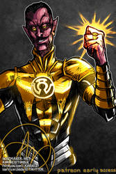2019 Patreon Sketch: Sinestro