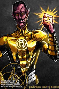 2019 Patreon Sketch: Sinestro