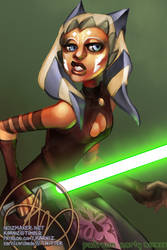 2019 Sketch Request: Ahsoka Tano