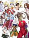 Final Fantasy X2 Doodles