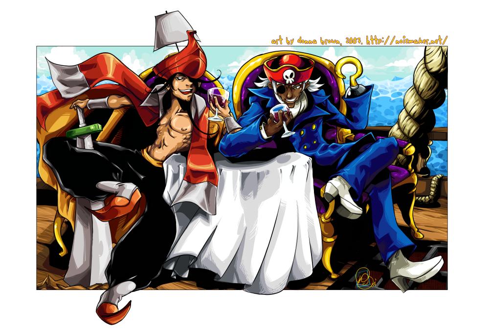 Pnm: Captain Jolly + Warudoc by karniz