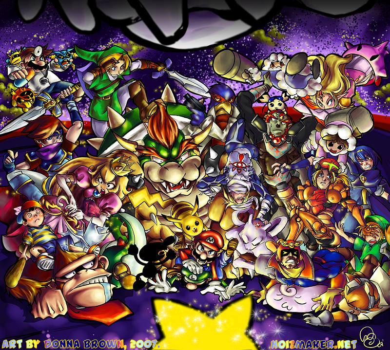 Super Smash Bros. Melee by karniz