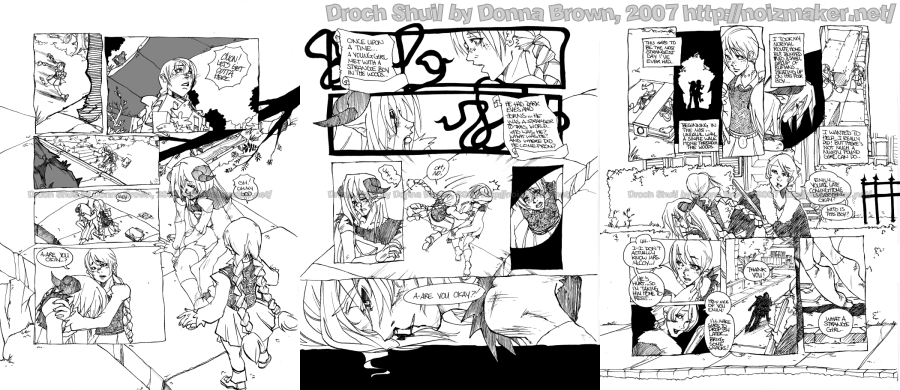 Droch Shuil Sample Pages 4-6 by karniz