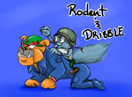 FAN ART Dribble and Rodent