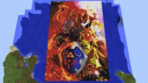 Legend Of Zelda Minecraft Art