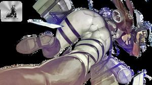 Shingeki no Kyojin Mikasa Ackerman Sexy HD Render