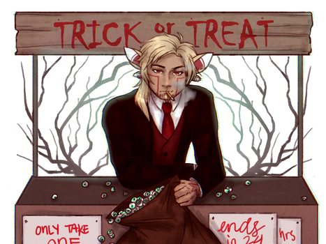 [A-A] Trick or Treat booth 5