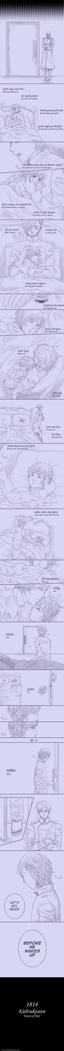 [APH Nordics] Sleep my young love by Enbi-to-Miruku