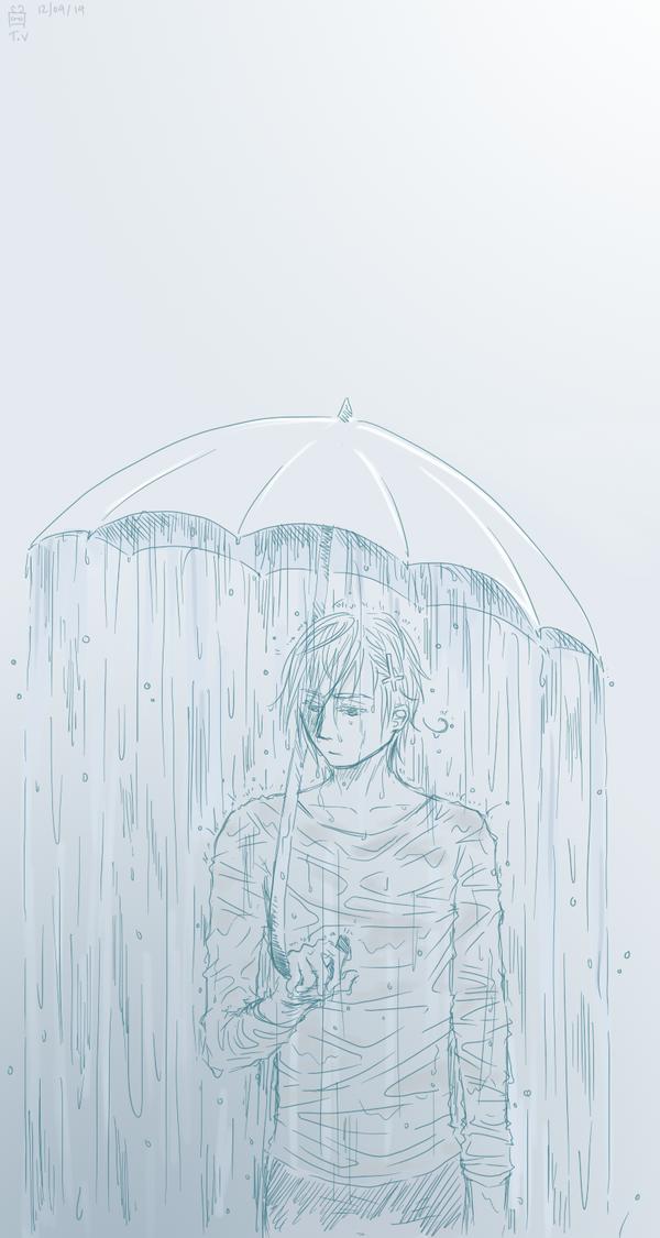[APH] Rain on me by Enbi-to-Miruku