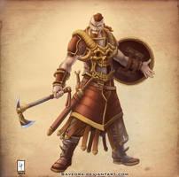Sergeant Reginal Amlocke by Savedra