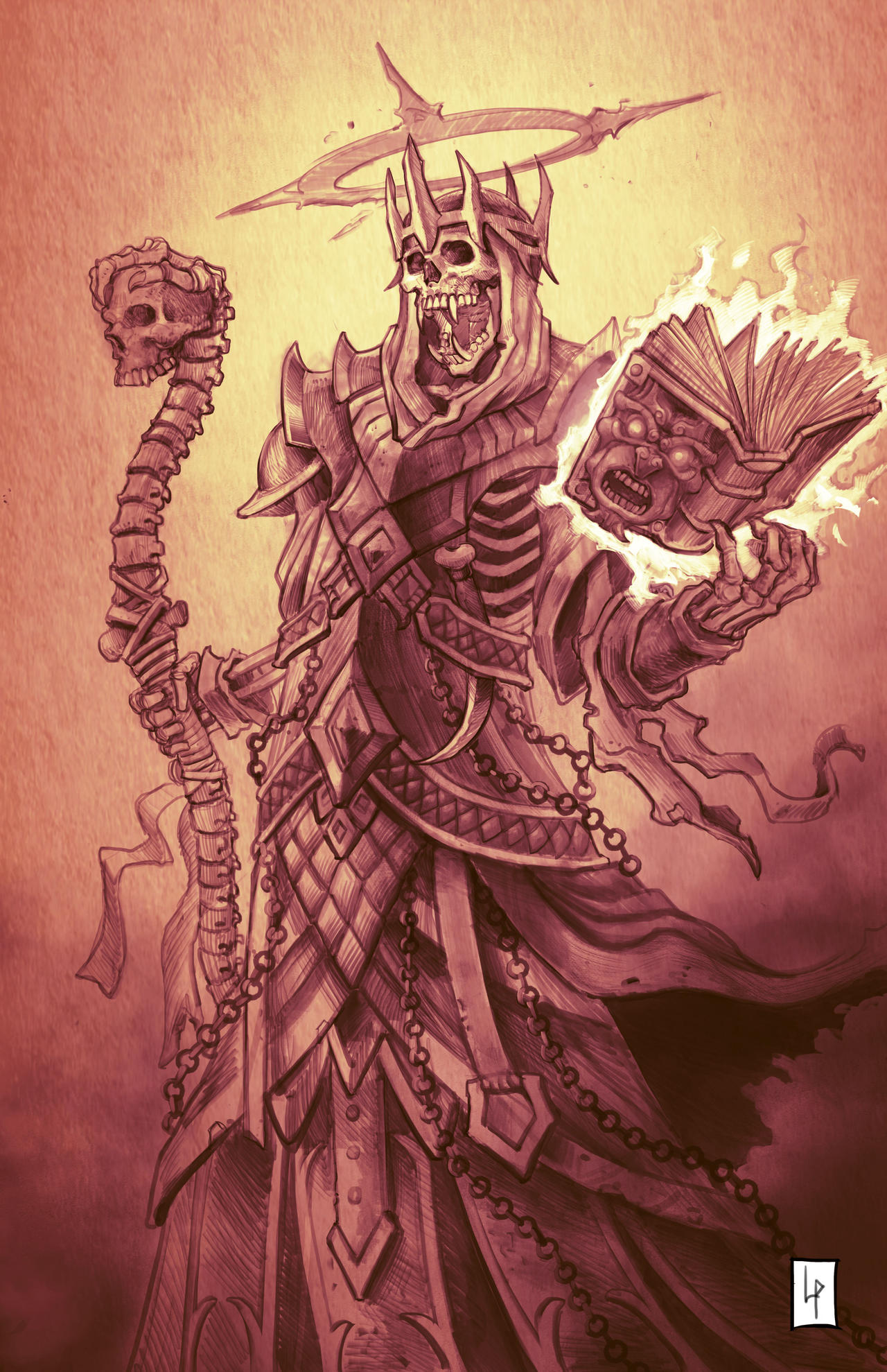 Lich Overlord sketch