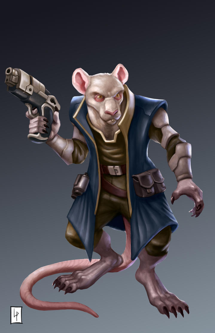 Space pirate Rat by Savedra